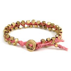 Haven't been able to find a faceted metallic bead so I don't have to fork out the big bucks for a Chan Luu bracelet.