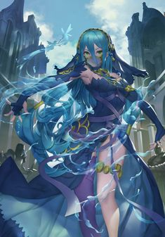 Fire Emblem Fates - Nohr Azura/Aqua