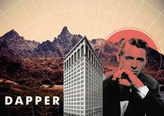 A Skewed View Of The Universe | DAPPER by Peter Crafford, via Behance
