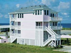 San Flamingo, 6 bedroom Ocean View home in Rodanthe, OBX, NC