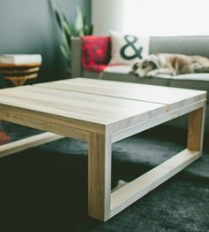 Crestone Pine Coffee Table by The Azure Furniture Co. on Scoutmob Shoppe