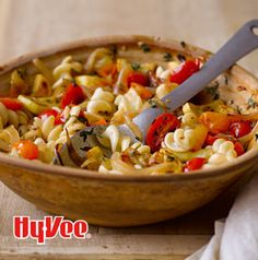 Here's a pasta dish that's perfect for late summer. Fusilli with Yellow Squash and Grape Tomatoes is super easy to make plus it's vegan, but you can add some grated Parm or crumbled feta if you'd like. Quick Pasta Recipes, Whole Food Recipes, Healthy Recipes, Healthy Foods, Italian Dishes, Italian Recipes, Red Tomato, Plant Based Nutrition
