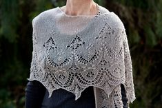 Ravelry: Minarets and Lace pattern by Mary-Anne Mace