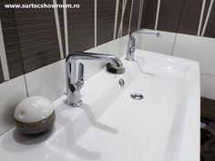 Lavoar: Duravit 2nd Floor / Baterie lavoar: Hansgrohe Axor Bouroullec Duravit, 2nd Floor, Sink, Flooring, Home Decor, Full Bath, Bathing, Sink Tops, Vessel Sink