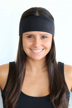 Shiny Solid Color  Fitness headband  Yoga by TheSavvyCoconut, $4.00