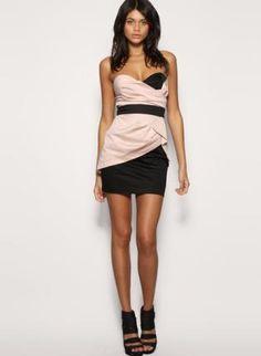 2fc9223b42e Bqueen Knit Strapless Modern Newest Dress ustrendy.com Bandeau Dress