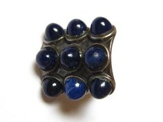 Vintage David Andersen Norwegian s Silver Blue Lapis 'Uni' Ring 2 Antique Jewelry, Silver Jewelry, Modern Colors, Uni, 1960s, David, Rings, Blue, Ebay