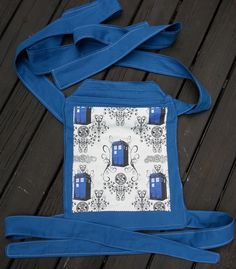 Tardis - Dr. Who Themed Mei Tai!  - Order one today!  $75.00 USD!