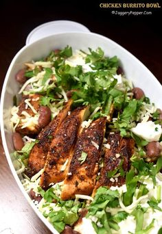 chipotle chicken bowl reipe mexican