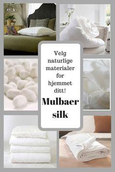 Silke er en spesielt ren og sterk naturlig fiber. Vi har silkedyner, silkeputer og silke overmadrass. www.stylehouse.no Letter Board, Lettering, Silk, Letters, Texting, Calligraphy, Brush Lettering