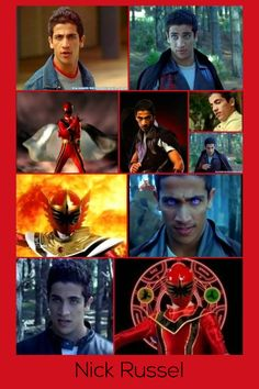 Nick Russel-Red Mystic Ranger