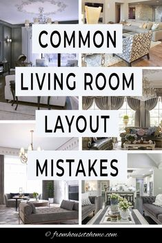 Learn how to fix these common living room layout mistakes with easy-to-implement furniture arrangement solutions that will help your home decor and interior design look its best fromhousetohome livingroom decoratingtips Diy Home Decor Living Room, Living Room Furniture Arrangement, Living Room Furniture Layout, Interior Design Living Room, Living Room Designs, Living Room Layouts, Room Arrangement Ideas, Arranging Bedroom Furniture, How To Design Living Room