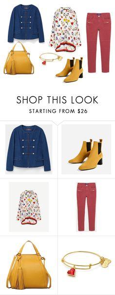 """""""look preprimaveral"""" by aliciagorostiza on Polyvore featuring moda y Piel Leather"""
