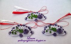 quilling my passion: martisoare evantai Quilling Flowers, Quilling Cards, Paper Quilling, Fun Crafts, Paper Crafts, Quilling Christmas, Quilled Creations, Quilling Patterns, Quilling Ideas