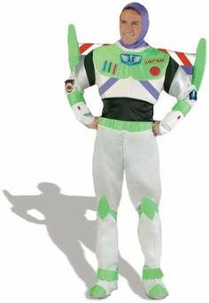 Disney Toy Story - Buzz Lightyear Prestige Adult Costume Brand By Disguise Inc