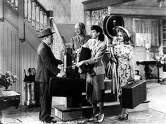 Grant Mitchell, Elizabeth Patterson, Rosalind Russell and Janet Blair - MY SISTER EILEEN