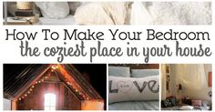 It's not easy to make your bed the perfect mix of comfortable and cute. Here are 15 Ways To Make Your Bedroom Cozy.