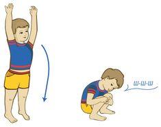 Дыхательные упражнения для детей Мышка и мишка