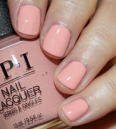 Opi Machu Peach-U, kostenloser Versand bei Nail Polish Canada - Fall Nails - Fall nails Spring Nail Art, Spring Nails, Fall Nails, Garra, Fabulous Nails, Gorgeous Nails, French Nails, Cute Nails, Pretty Nails