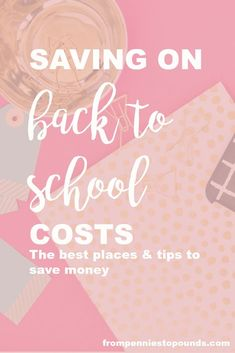 Save money on back to school costs with these tips: http://www.frompenniestopounds.com/saving-back-school-costs/
