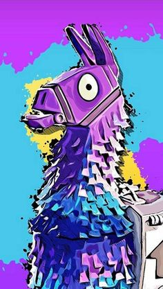 Fortnite's Rare Llama, Only three Llamas are created per match! Get this cute Llama hoodie from Fortnite, it looks great and perfect for gifts. Vexx Art, Game Wallpaper Iphone, Iphone Wallpapers, Cartoon Wallpaper, Llama Arts, Best Gaming Wallpapers, Epic Games Fortnite, Fun Games, Cute Llama