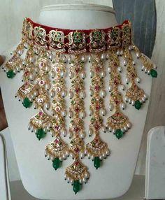 Jadau jewellery for Wedding   Hhhh
