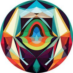 Entrancing Graphic Mandalas   Anai Greog   inspiration