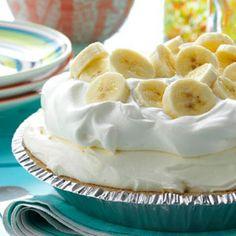 Old-Fashioned Banana Cream Pie     #banana #bananacreampie #desserts #pie #classicdesserts