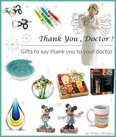 Doctors Day ideas - appreciation gifts for doctors. Also makes good graduation gifts for medical school students. Staff Gifts, Teacher Gifts, Best Graduation Gifts, Doctors Day, Employee Recognition, Doctor Gifts, Good Doctor, Thanksgiving Gifts, Appreciation Gifts