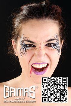 Mujer maligna - www.maquillador.eu, ejemplos de maquillaje