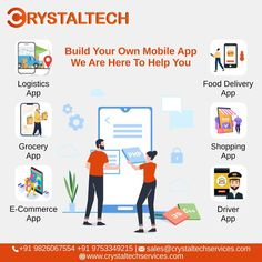 For more info, we will provide you best Web & Mobile Applications for your business. Sales E-mail:- sales@crystaltechservices.com Website:- www.crystaltechservices.com #webdevelopment #agencywork #webdevelopmentcompany #appdevelopmentcompany #smoservices #india #findapro #share #project #linkedin #graphicdesigning #webdesign #seo #smo #webdesign #website Driver App, It Service Provider, App Development Companies, S Mo, Best Web, Build Your Own, Ecommerce, Web Design, Mobile Applications