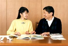 asahi:  Princess Aiko of Japan, shown here with her father Crown Prince Naruhito, celebrated her 15th birthday, December 1, 2016 (b. December 1, 2001)