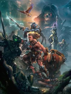 """ Defender of Grayskull ""by Ryan Barger"