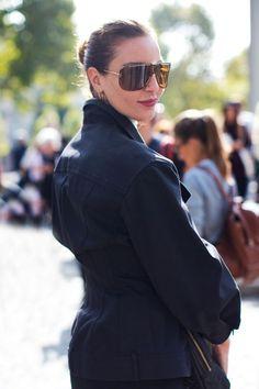 cool shades Ece. Paris. #EceSukan #TheSartorialist