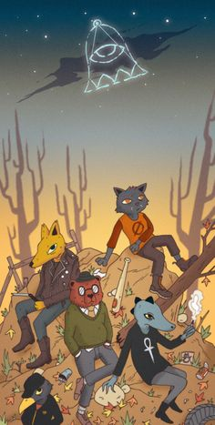Nitw - Possum Spring's gang Underneath the Constellations