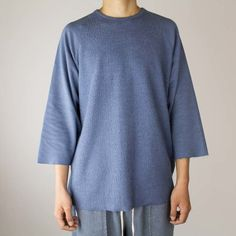 Sherpa Terry Raglan Indigo - eptm #eptm #eptmusa #shopredcar7 #mensblog #fashionblogger #dtla #madeinusa #madeinlosangeles