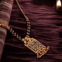 buy online Mangalsutra | Jadtar in 22k | jewelegance.com