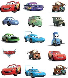 print free cars movie printables from invitations, to color pages, party hats, and favor boxes. Disney Cars Cupcakes, Disney Cars Party, Disney Cars Birthday, Disney Pixar Cars, Car Themed Parties, Cars Birthday Parties, 1st Boy Birthday, Cars Party Favors, Auto Party