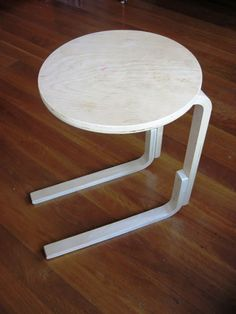 Bedside/Sofa table made from FROSTA... The Best Hacks From the Fan Site Ikea Doesn't Want You To See