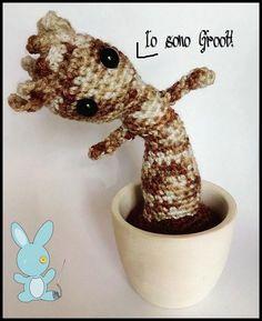 #Groot #iamgroot #guardianidellagalassia #guardianofgalaxy #tree #piantina #amigurumi