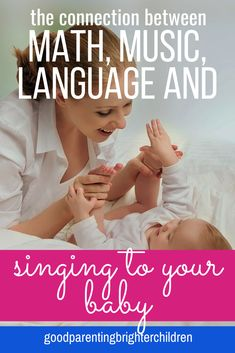Playing classical music, songs, and singing to your baby is an important vehicle for early language development as well as a way to communicate love to your child. Included are lists of music to play for your baby at bedtime, naptime, playtime. Music Activities For Kids, Brain Activities, Music For Kids, Infant Activities, Preschool Activities, Kids Learning, Language Development, Child Development, Emotional Development