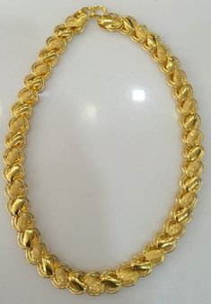 Gold Chain 22 K Gold Link Chain Fine jewelry Bridal Jewelry, Gold Jewelry, Fine Jewelry, Gold Necklace, Chain Jewelry, Jewelry Shop, Jewelry Bracelets, Vintage Jewelry, Pendant Necklace