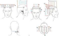 Blank Head Sheets Cosmetology Pinterest