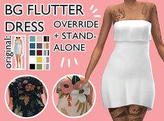 10 colors (slightly edited) Image Spectra palette, 5 soft floral patterns choose if you want it enabled or disabled for random both frames, tagged as feminine OVERRIDES that BG fltter. Play Sims, Sims 4 Mm Cc, Sims 4 Cas, Sims 4 Cc Finds, Game Item, Sims 4 Custom Content, Just Giving, Swatch, Feminine