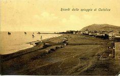 Spiaggia di #Cattolica primi del 900