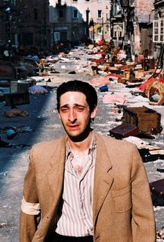 Adrien Brody in The Pianist, one of the best scenes in a movie ever.