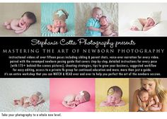 SCP's Mastering the Art of Newborn Photography