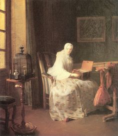 Chardin The Bird-Song Organ