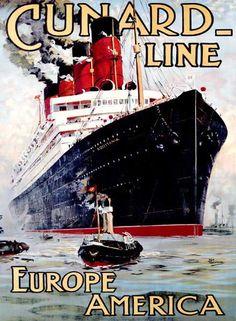Cunard Line / Aquitania