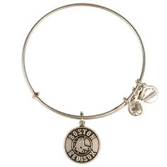 $45.00 Red Sox Alex and Ani - Circle Logo - Silver Braclet JWL0025